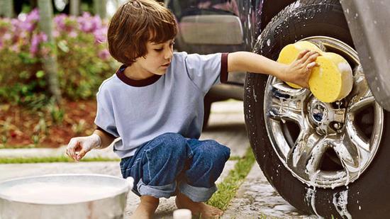 Rửa xe là một công việc thú vị